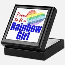 Rainbow Girls Keepsake Box