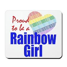 Rainbow Girls Mousepad
