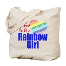 Rainbow Girls Tote Bag