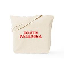 Retro South Pasadena (Red) Tote Bag
