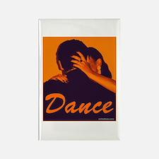 DANCE Rectangle Magnet (10 pack)