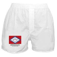 Arkansas Flag Boxer Shorts
