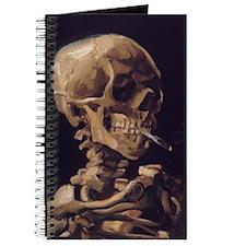Van Gogh Skull Journal