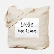 Little Men At Arm Tote Bag