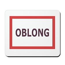 Oblong - Mousepad
