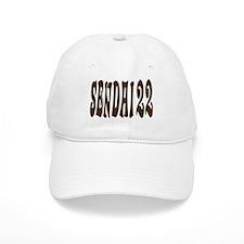 SENDAI JAPAN NUMBER/BROWN Baseball Cap