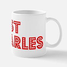 Retro St Charles (Red) Mug