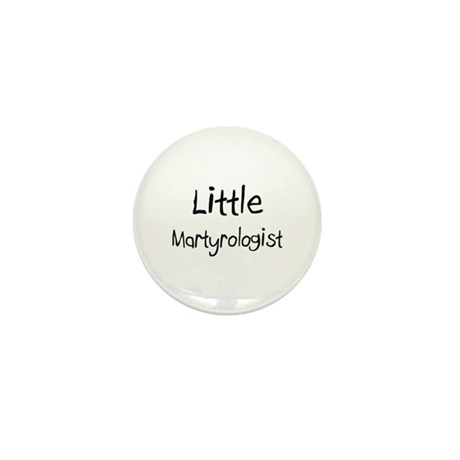 Little Martyrologist Mini Button