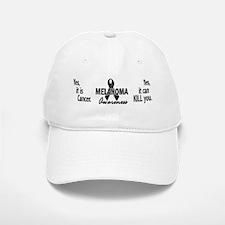 Melanoma Awareness 4 Baseball Baseball Cap
