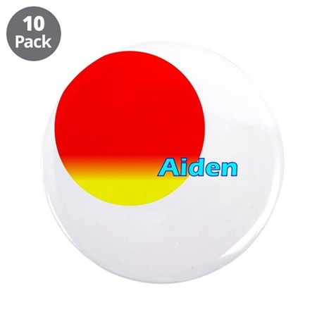 "Aiden 3.5"" Button (10 pack)"