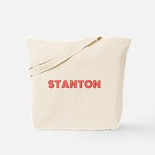 Retro Stanton (Red) Tote Bag