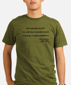 Walter Whitman 7 T-Shirt