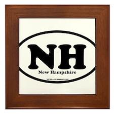 New Hampshire Framed Tile