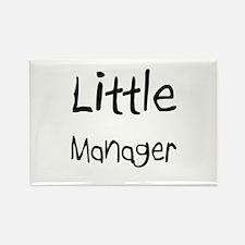 Little Manager Rectangle Magnet
