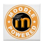 Moodle Powered Tile Coaster
