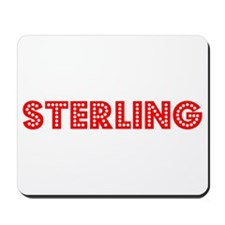 Retro Sterling (Red) Mousepad