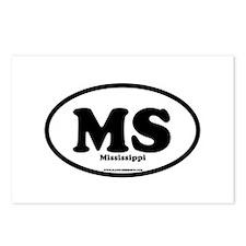 Mississippi Postcards (Package of 8)