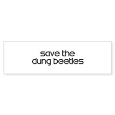 Save the Dung Beetles Bumper Sticker (10 pk)