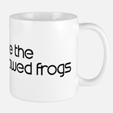 Save the African Clawed Frogs Mug