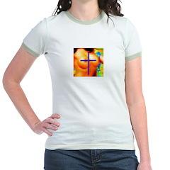 Sexy Pixelation Crossed on T