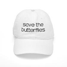 Save the Butterflies Baseball Cap
