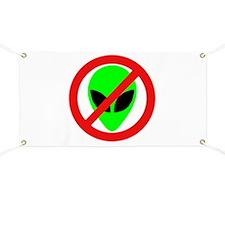 No More Aliens Banner