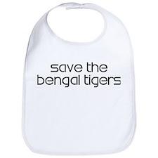 Save the Bengal Tigers Bib