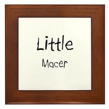 Little Macer Framed Tile