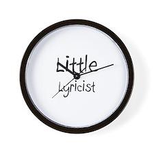 Little Lyricist Wall Clock