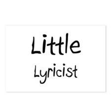 Little Lyricist Postcards (Package of 8)