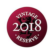 "Vintage Reserve 2018 3.5"" Button (100 pack)"