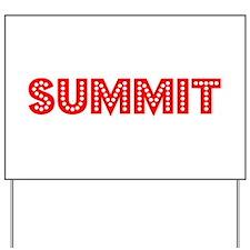 Retro Summit (Red) Yard Sign