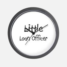 Little Loan Officer Wall Clock