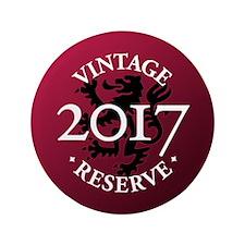 "Vintage Reserve 2017 3.5"" Button (100 pack)"