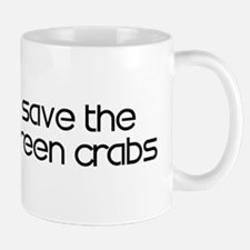 Save the Green Crabs Mug