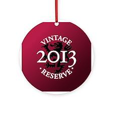 Vintage Reserve 2013 Ornament (Round)