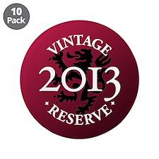 "Vintage Reserve 2013 3.5"" Button (10 pack)"