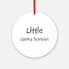 Little Lighting Technician Ornament (Round)