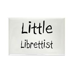 Little Librettist Rectangle Magnet