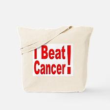 I Beat Cancer Tote Bag