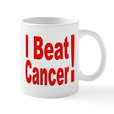 I Beat Cancer Mug