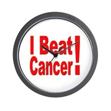 I Beat Cancer Wall Clock