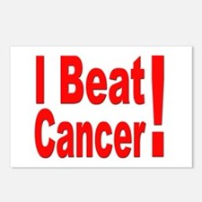 I Beat Cancer Postcards (Package of 8)