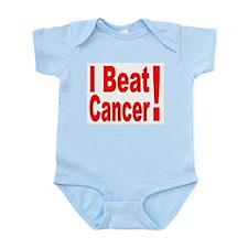 I Beat Cancer Infant Creeper
