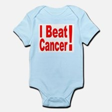 I Beat Cancer Infant Creeper