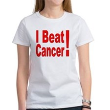 I Beat Cancer (Front) Tee