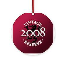 Vintage Reserve 2008 Ornament (Round)