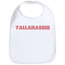 Retro Tallahassee (Red) Bib