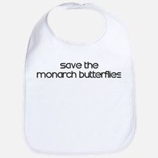Save the Monarch Butterflies Bib