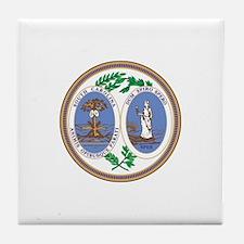 SOUTH-CAROLINA-SEAL Tile Coaster